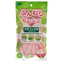 天然ゴム手袋 OK-1 Lサイズ ピンク