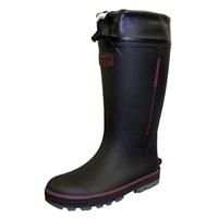紳士 超軽量長靴 ブラック LL RMZ701