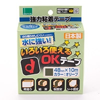 OKT−48 いろいろ使えるOKテープ オリーブ