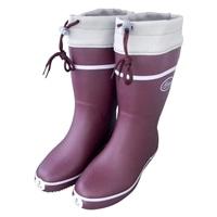 FC800 婦人軽量カバー付長靴 ワインS