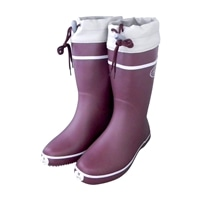 FC800 婦人軽量カバー付長靴 ワイン M 24.0cm