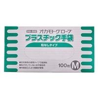 オカモト プラスチック手袋 M(100枚入) OG352M