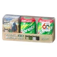 【数量限定】クロレッツ XP オリジナルミントボトル 2個+ボトルガム用撥水加工巾着ポーチセット