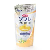 ソフレ 濃厚入浴液 リッチミルク 詰替 400ml