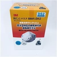 防じんマスク10枚パック8805-DS2