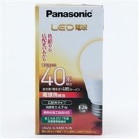 パナソニック LED電球 広配光40形(電球色) LDA5LGK40ESW