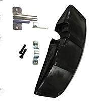 日立工機エンジン刈払機用飛散防護カバーセット(A)クロ