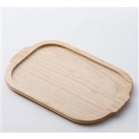 角型グリルパン用 木製プレート