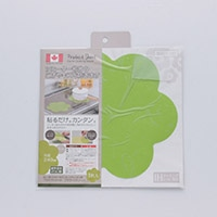 IH用プロテクトシート フラワー グリーン