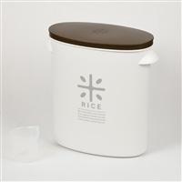 【数量限定】お米袋のままストック 5kg用 ブラウン HB3830
