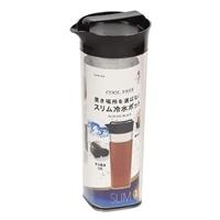 【数量限定】クールフリー スリム冷水ポット 1.1L ブラック HB-4326