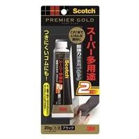 3M スーパー多用途2接着剤 ブラック 20g