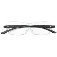 【数量限定】眼鏡型ルーペ グレー CZ-01