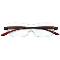 【数量限定】眼鏡型ルーペ ワイン CZ-02