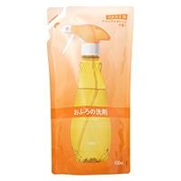 CAINZ おふろの洗剤 つめかえ用 400ml ナチュラルオレンジの香り