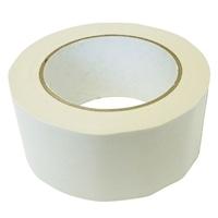 カラー布粘着テープ 幅50mm×25m シロ