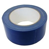 カラー布粘着テープ 幅50mm×25m アオ