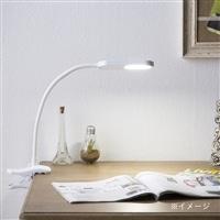 LEDデスクライトクリップ式 CZ−C6WH