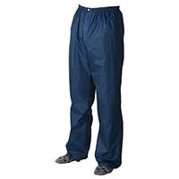 撥水パンツ ブルー 3L