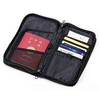 パスポートケース ブラック