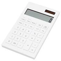 軽くて薄い電卓 KUD−12OW