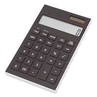軽くて薄い電卓 KUD−12BK