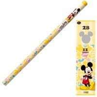 ディズニー 鉛筆 2B ミッキー ダース