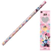 【数量限定】ディズニー 鉛筆 2B ミニー ダース