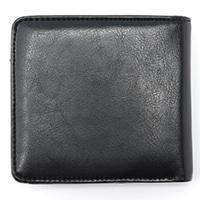 二つ折り財布 PU-1109 BK