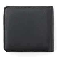 二つ折り財布 PVC-1109 BK