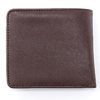 【数量限定】二つ折り財布 PVC-1109 BR
