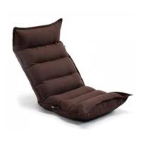 TZ10 倒れにくいレバー式フルフラット座椅子 ブラウン