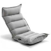 TZ11 倒れにくいレバー式フルフラット座椅子グレー