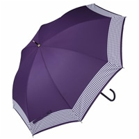 【数量限定】濡れると色が変わる傘 千鳥格子 58cm