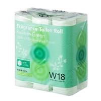 CAINZ フレグランストイレットロール 18ロール リフレッシュグリーンの香り T