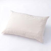 枕 パイプ+ポリエステル2層枕 ふつう 43X63