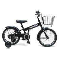【自転車】【全国配送】補助輪付き子供用自転車 FECHTER(フェクター) 16インチ ブラック【別送品】