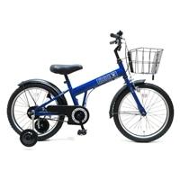 【自転車】【全国配送】補助輪付き子供用自転車 FECHTER(フェクター) 18インチ ブルー【別送品】