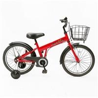 【自転車】【全国配送】補助輪付き子供用自転車 FECHTER(フェクター) 18インチ レッド【別送品】
