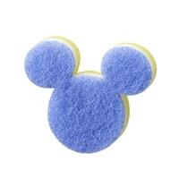 食器用スポンジ ミッキーマウス ブルー