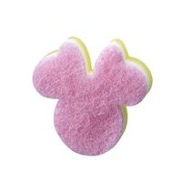 食器用スポンジ ミニーマウス ピンク