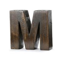 "【trv】WOOD DECO ALPHABET ""M"""