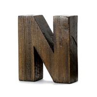 "【trv】WOOD DECO ALPHABET ""N"""