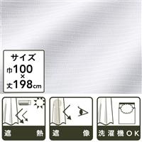 遮像遮熱レースカーテン ポート 100×198 2枚組