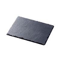 【trv・数量限定】スレートディナープレートS 25×20cm
