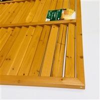 木製 ルーバーラティスフェンス 90×120cm