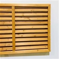 木製 ルーバーラティスフェンス 180×60cm