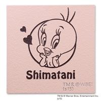 表札 セラミックタイル(ピンク)(WN-415P-12) トゥイーティー【別送品】【要注文コメント】