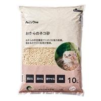 猫砂 Pet'sOne おからのネコ砂 10L(1Lあたり 約59.8円)