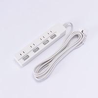 LEDスイッチ4口タップアダプター対応 3.0m